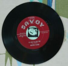 Brownie McGhee 45 I'd Love to Love You / Anna-Mae 1955 Savoy Blues VG++