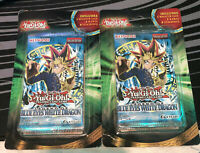 2x YuGiOh LEGEND OF BLUE EYES WHITE DRAGON Sealed Booster Packs
