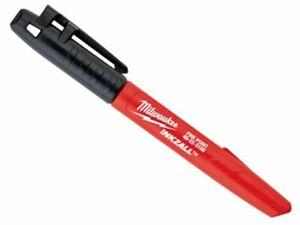 Milwaukee 48223100 Inkzall Jobsite Fine Point Marker Pen Black