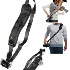QUICK STRAP Camera Single Shoulder Belt Sling SLR DSLR Cameras Canon Sony NikonL