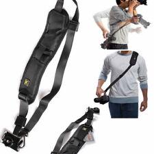 QUICK STRAP Camera Single Shoulder Belt Sling SLR DSLR Cameras Canon Sony Nikon