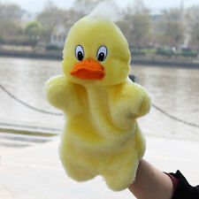 Cute Duck Hand Puppets Plush Dolls Story Telling Educational Pretend Play Toys