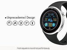 Tour écran bleu noir en métal argenté Smart iwatch 2 montre téléphone Mobile Nano SIM