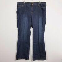 FASHION BUG Womens Blue Jeans 24 (32 Inseam) Stretch Denim Pants Straight Leg
