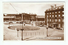 Railway Station 6 Wheeled Trolleybuses St George's Square Huddersfield Yorkshire