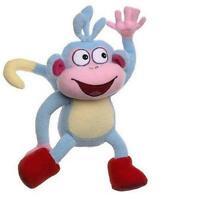 "Dora the Explorer 9"" Boots the Monkey Plush Doll New with Tagsa0"