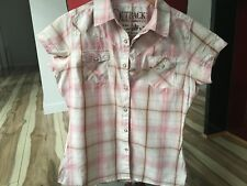 Outback Ladies Shirt - Size S/M - 5+ items free postage AU only