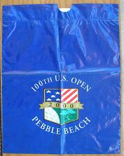 2000 U.S. Open Pebble Beach Golf Merchandise Bag, Unused, 16x20 Inches Nice Logo