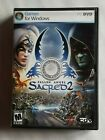 Sacred 2 Fallen Angel Pc Dvd-rom Computer Game 2008 Ascaron Cdv Software