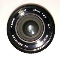 Vivitar 28mm 1:2.8 MC Close Focus Wide Angle Lens