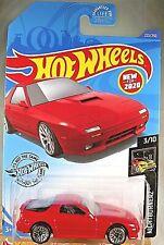 2020 Hot Wheels #223 Nightburnerz 3/10 '89 MAZDA SAVANNA RX-7 FC35 Red w/Lace Sp