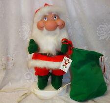 Santas Best Animated Santakins Santa Motion Electric Christmas Trol Elf Gnome