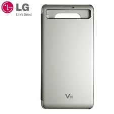 New LG Official Quick Cover Flip Case CFV-260 for LG V20 Silver