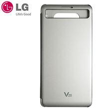 New LG Official Quick Cover Flip Case CFV-260 for LG V20 Silver