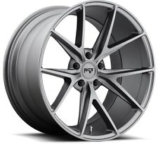 Niche Misano M116 17X8 5X112 +40 Gunmetal Rims Fits Mercedes C S E Cl Class W220