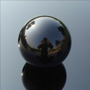 40mm Glass Black Obsidian Sphere Large Crystal Ball Paper Weight