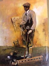 Unknown Artist-On the Fairway-Sports-Golf-Art For sale