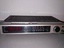 Philips 590 Electronic clockradio radio despertador 90as590/00 funcional 70er