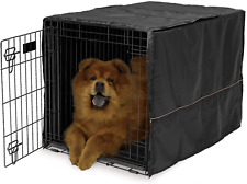 Cover For Dog Crate Pet Cat Cage Kennel Privacy 36-Inch Black