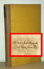 D H Lawrence - Love Among Haystacks - SIGNED INSCRIBED Association Copy 1st 1st