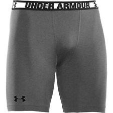 Under Armour Hombre Heatgear Sonic Pantalones Cortos de Compresión True Gris