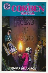 """A Corben Special #1 (1985, Pacific) Richard Corben  """"...House of Usher""""  NM"""