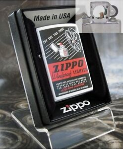 Zippo 205 THE FAN TEST Windproof Lighter with PIPE INSERT PL