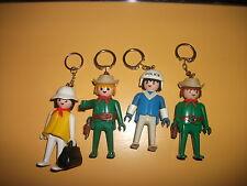 Konvolut playmobil keychains vintage Schlüsselanhänger  geobra 1974 Klicky