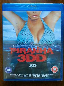Piranha 3DD 3D Blu-ray 2011 Cult Horror Movie BNIB