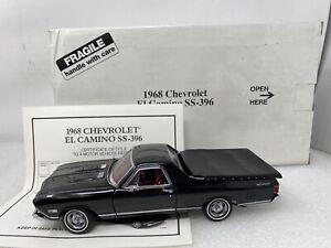 1/24 Danbury  Mint 1968 Chevrolet El Camino 396 SS Tuxedo Black READ ME