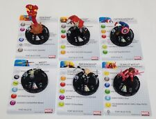 Heroclix Chaos War COMPLETE lot of 6 Fast Forces figures w/cards!