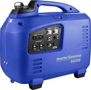 SILENT PETROL GENERATOR 2.2 KW ELECTRIC / REMOTE START 2 YR WARRANTY 4 STROKE