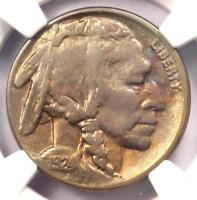 1924-S Buffalo Nickel 5C - Certified NGC XF Details - Rare Date - Scarce Coin!