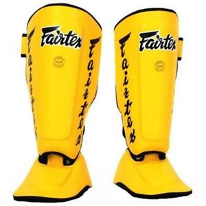 Fairtex Detachable Twister Shin Guards - SP7 - Special Padded Straps