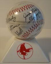 Red Sox 1986 World Series Team Signed Baseball Buckner More Fenway Park Merchand