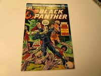 JUNGLE ACTION # 9 BLACK PANTHER IN VERY FINE + CONDITION, WITH BARON MACABRE