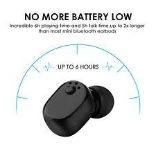 Mini Wireless Headset Bluetooth 4.1 Stereo In-Ear Sport Earphone Earbud Handfree