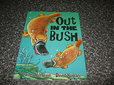 OUT IN THE BUSH BY YVONNE MORRISON S/COVER BRAND NEW