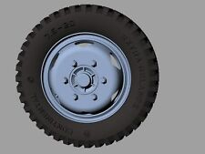 RE35-374, Opel Blitz road wheels early (GELANDE pattern), panzerart, échelle 1/35
