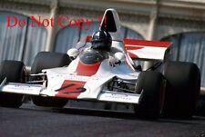 Graham Hill Embassy Racing Shadow DN1 Monaco Grand Prix 1973 Photograph