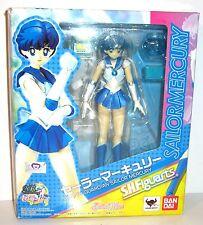 Sailor Moon Mercurio/Mercury Action Personaggio S.H. FIGUARTS BANDAI circa 14cm (L)