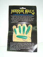 PARTY SCARE FAKE ADHESIVE HORROR NAILS MOC