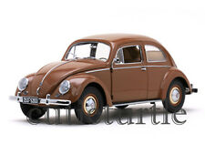 Sun Star 1953 Volkswagen VW Beetle Saloon 1:12 Brown 5203