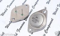 1pcs-MOTOROLA MJ15015 Transistor - TO-3 (TO3) NPN 15A 120V 180W