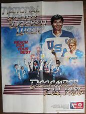 Mike Eruzione National Youth Hockey Week 1986 Poster