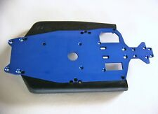 Traxxas Jato 3.3 Blue Anodized Chassis W/ Side Guards