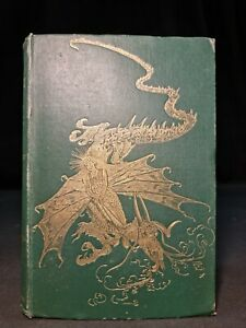 1892 GREEN FAIRY BOOK Andrew Lang FIRST EDITION Illustrated CHINESE TALES Scarce