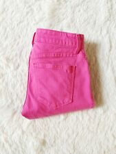Vineyard Vines Skinny Fit Women's Jean Pants Hot Pink EUC Colored Denim SZ00