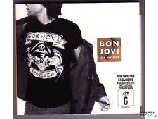 "Bon Jovi RARE AUSSIE ONLY 5TRK CD ""IT'S MY LIFE"" W/- POSTER & DEMO TRACKS"