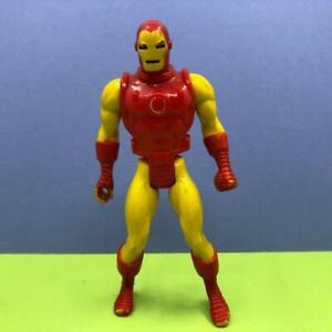Vintage Toybiz Marvel Super Heroes Secret Wars Iron Man Toy Action Figure 1980s